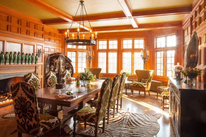RHONY Dorinda Medley Bluestone Manor Dining Room