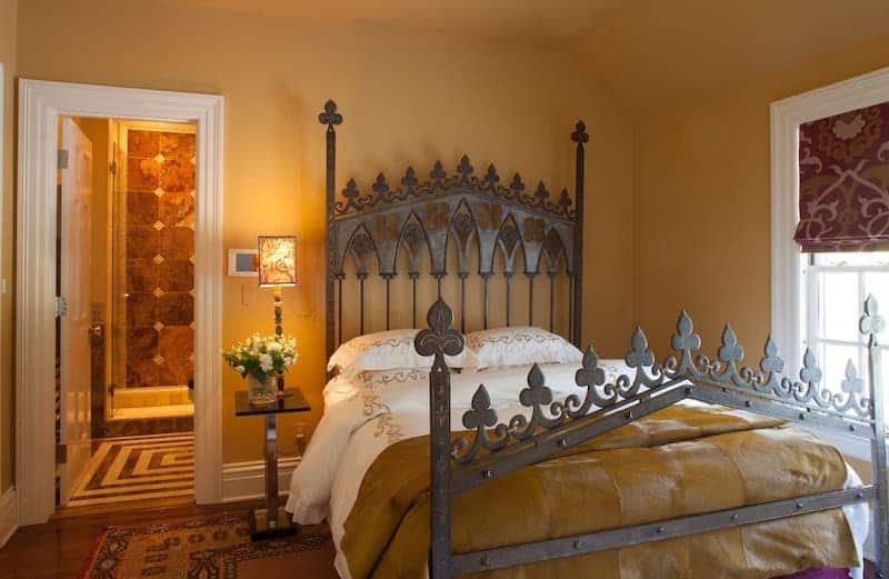 RHONY Dorinda Medley Bluestone Manor Guest Bedroom