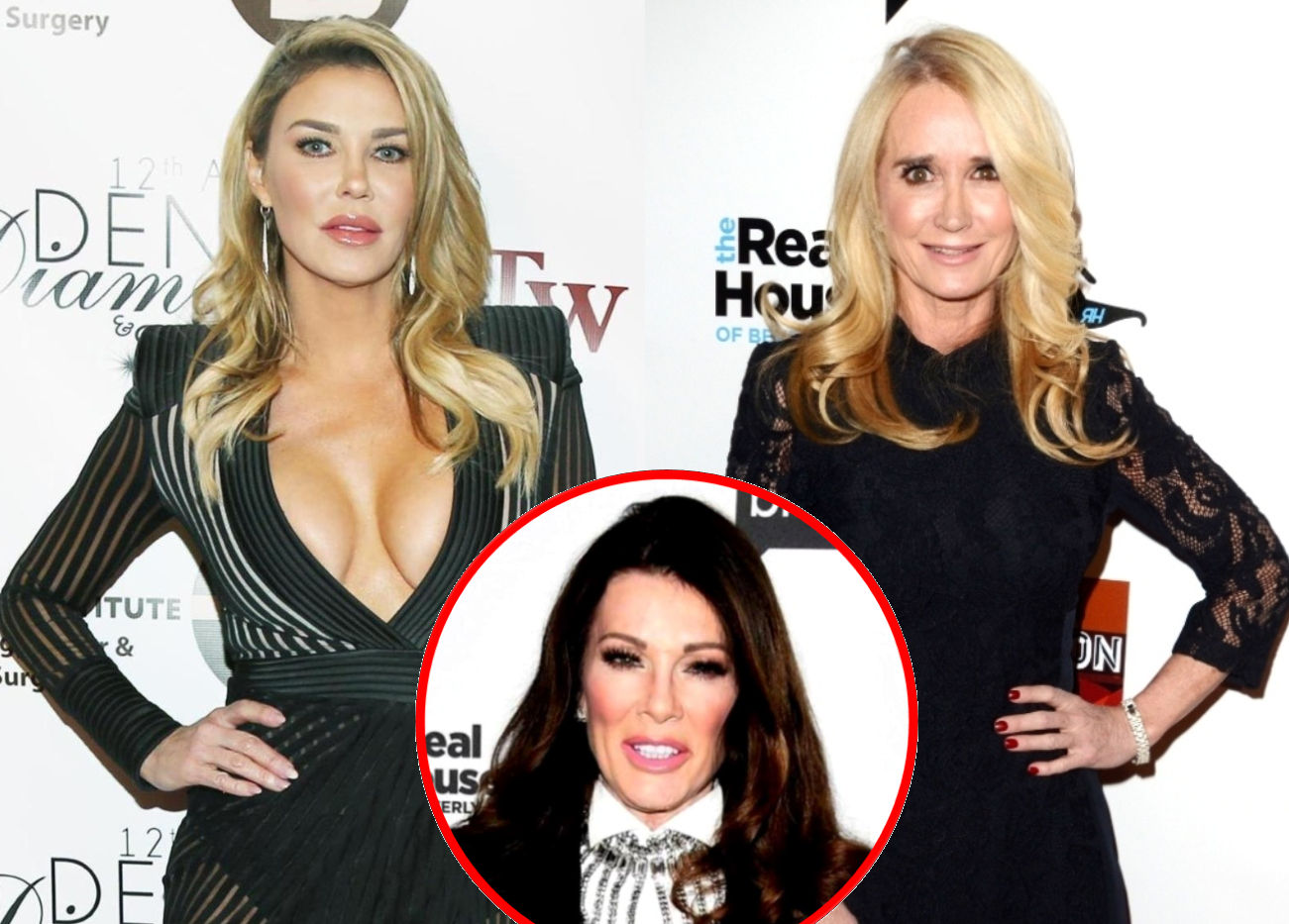 """Brandi Glanville Blames """"Hot Tub Fight"""" With Kim Richards For Why They're """"Not Talking,"""" Says She """"Never, Ever"""" Wants to See Lisa Vanderpump Again"""