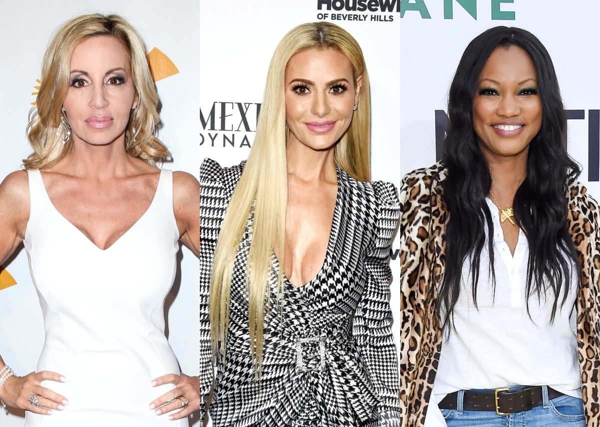 RHOBH's Camille Grammer Accuses Dorit Kemsley of Trying to Gaslight Garcelle Beauvais, Defends Garcelle Against Claims of Misrepresenting Herself