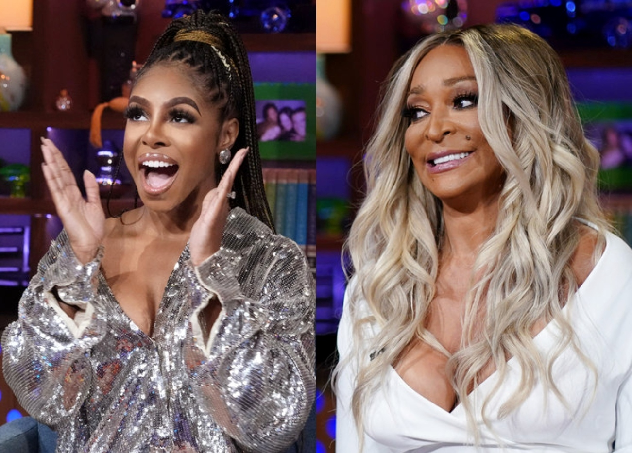 """Candiace Dillard Bassett Claims Karen Huger Tried To Get Her Axed From RHOP And Has No """"Remorse,"""" But Can Their Friendship Be Repaired?"""