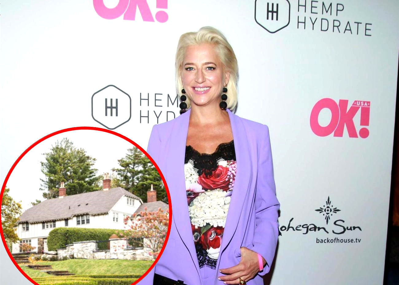 """PHOTOS: 'RHONY' Alum Dorinda Medley to List Berkshires Mansion on Airbnb, Find Out How it Costs to """"Make It Nice"""" at the Bluestone Manor"""
