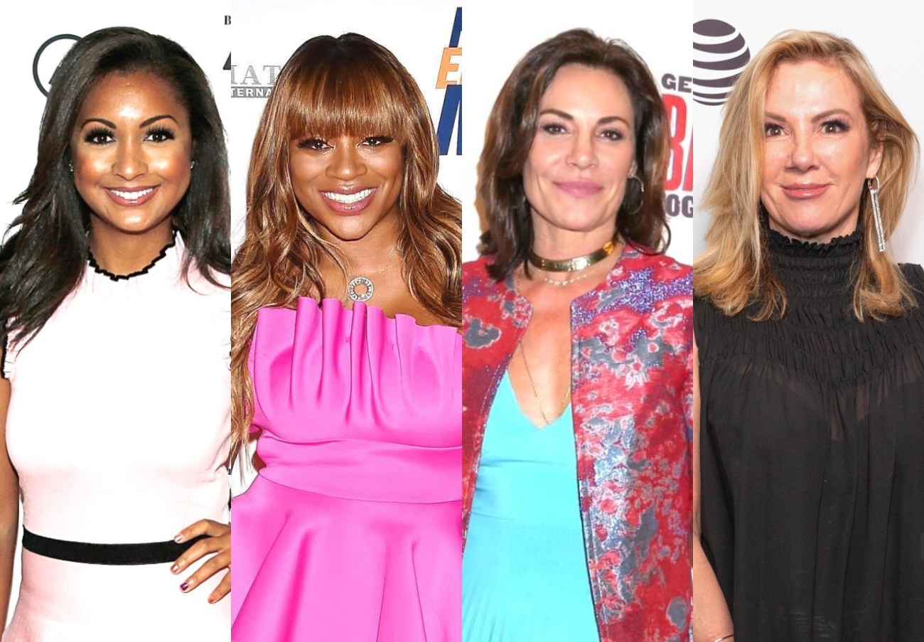 """Eboni K Williams Talks Confusion Over Bershan's Role on RHONY, Feud With Luann and Admits She and Ramona Don't Align on """"Basic Values,"""" Plus Reunion Update"""