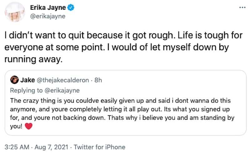 Erika Jayne Explains Why She Didn't Quit RHOBH