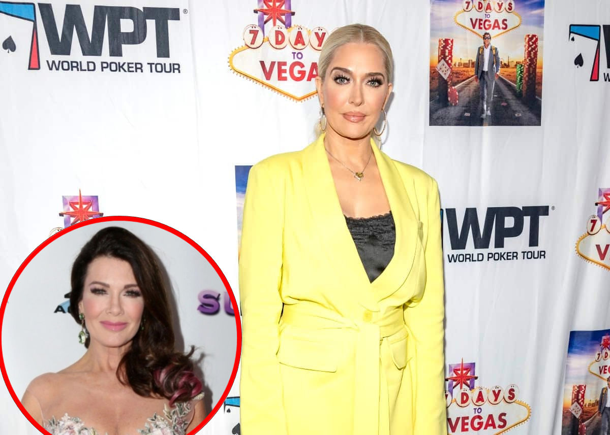 """REPORT: Erika Jayne Believes Bravo Wants to """"Embarrass"""" Her on RHOBH and """"Make Her Look Bad"""" as Source Shares Why She's Also Angry With Lisa Vanderpump"""