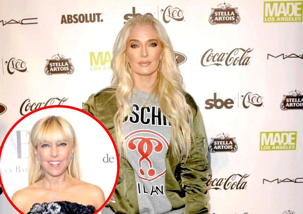 Erika Jayne Maintains Her Innocence in Tom's Scandal and Denies Rumor She Invested Money in RHOBH Costar Sutton Stracke's Store