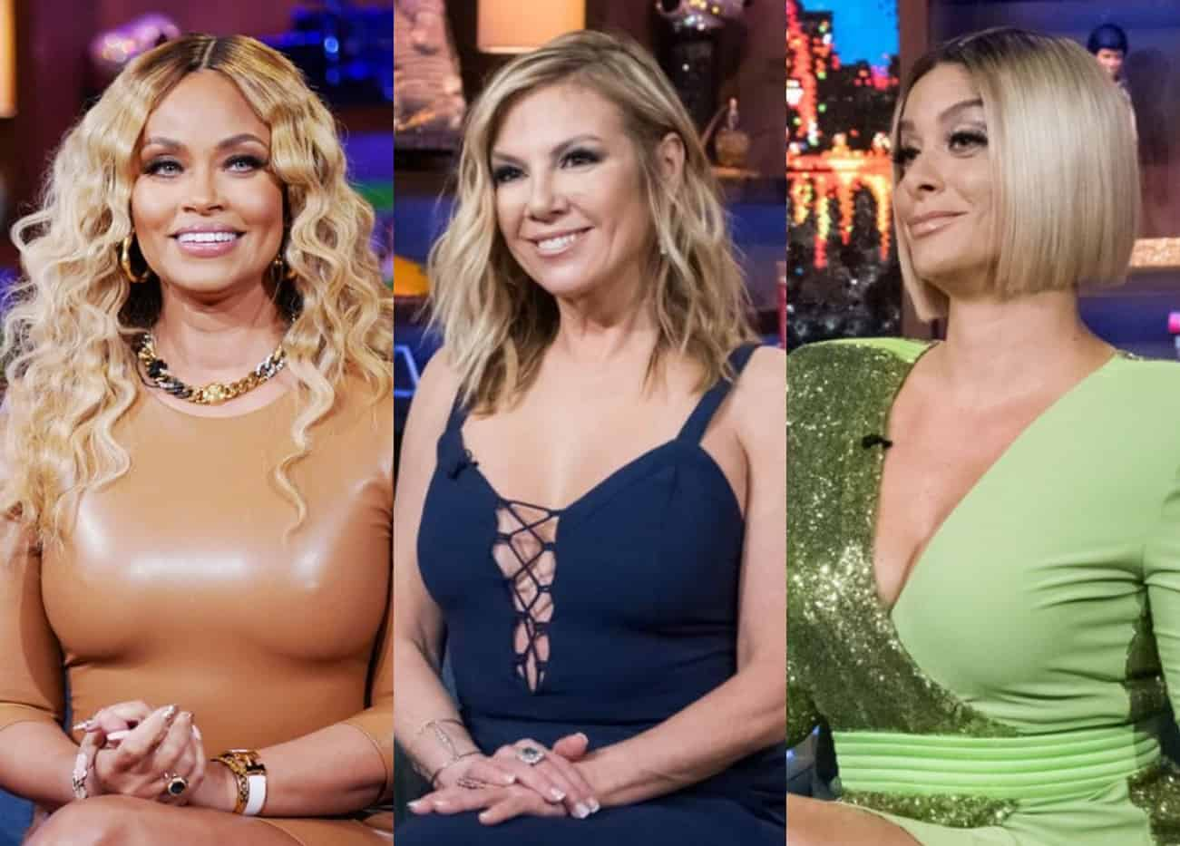 """'RHOP' Gizelle Bryant on Why She """"Gets"""" RHONY Backlash, Claims Robyn Holds Her """"Accountable"""" and Admits She Still 'Hates' Ramona"""