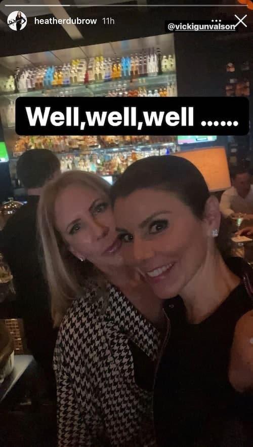 Heather Dubrow and Vicki Gunvalson Dine Together Amid RHOC Season 16