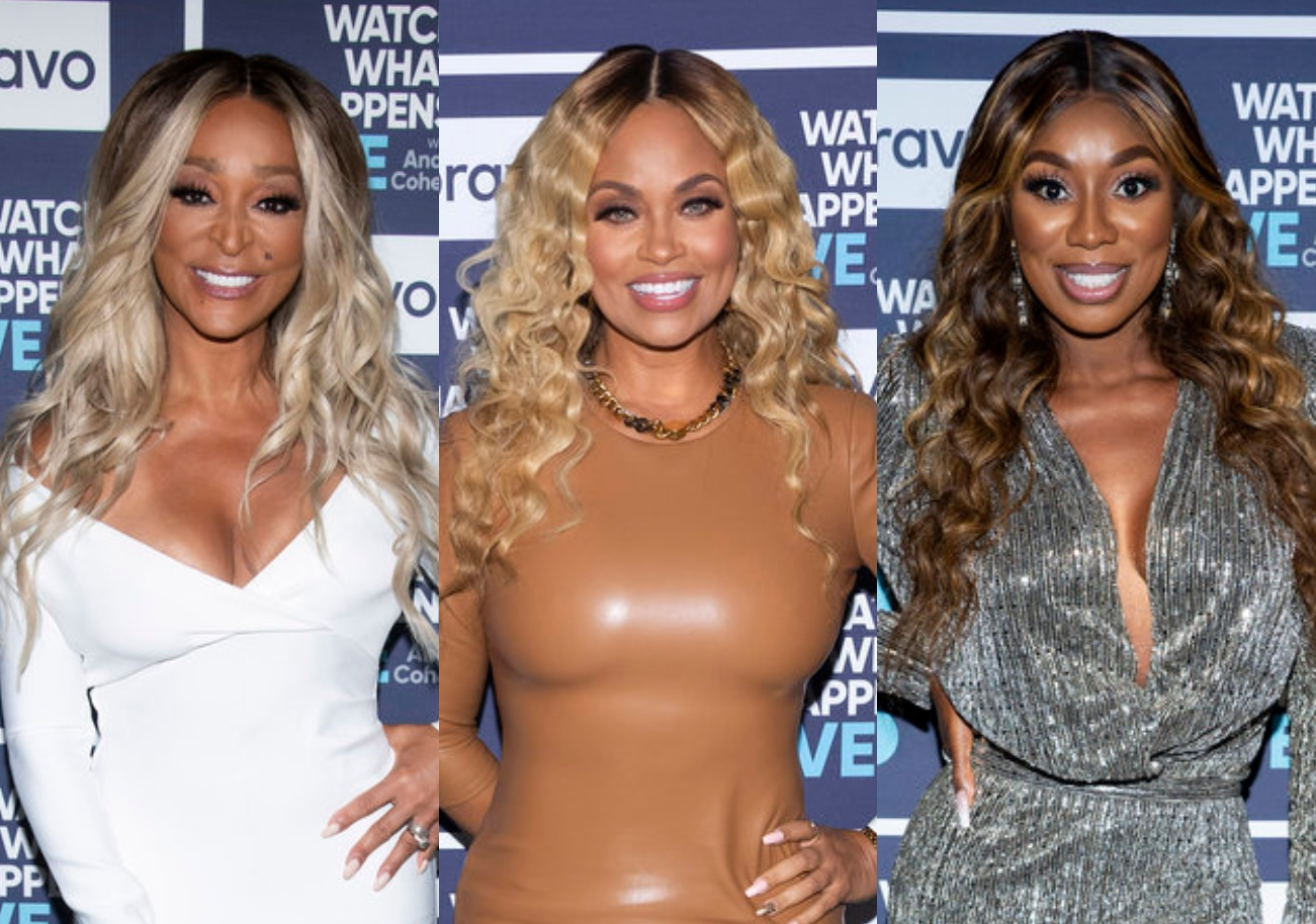 """RHOP's Karen Huger Reacts to Gizelle Calling Her a """"Troll,"""" Slams Costar as """"Insecure"""" For """"Bullying"""" Wendy and Discusses Gizelle's Hurtful Comment About Ray"""