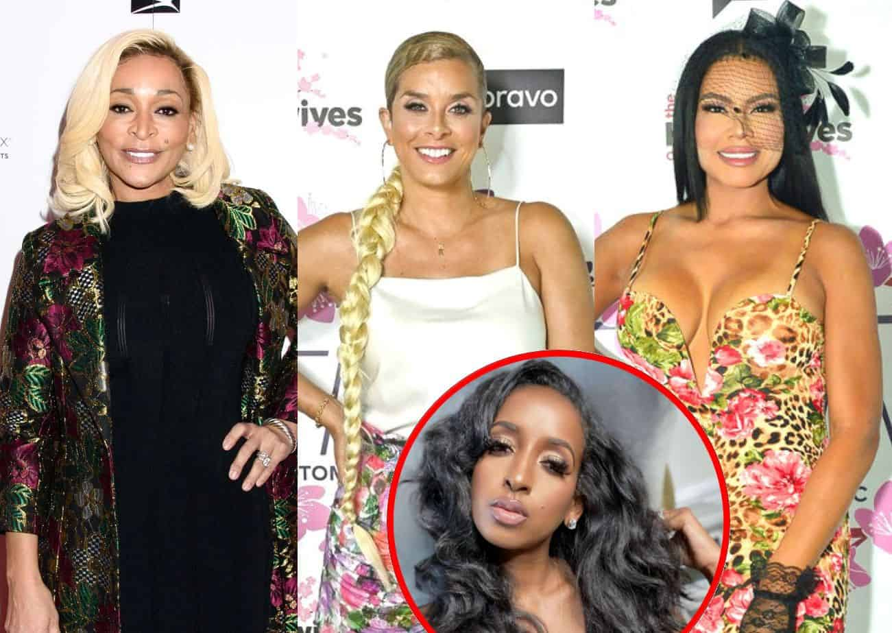"""Karen Huger Responds to Robyn's RHOP Diss as Mia Claps Back at Fan Who Suggests Husband Could Leave Her, Plus She Shades Askala's Claims of Having """"Several"""" Businesses"""