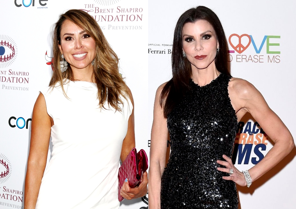 """Kelly Dodd Calls Heather Dubrow a """"Pretentious B*tch,"""" Says """"Sue Me"""" Over COVID Allegation and Claims Heather Quit RHOC After Demotion on RHOC 11"""