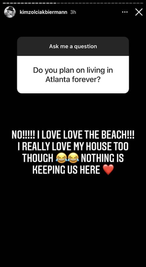 Don't Be Tardy Kim Zolciak Confirms She'll Move Out of Atlanta