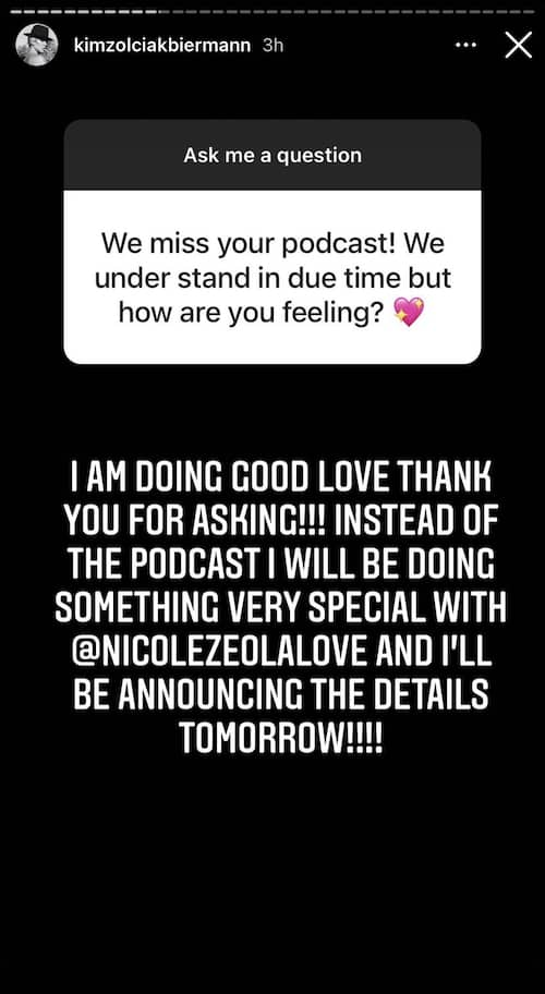 Don't Be Tardy Kim Zolciak Teases New Project After Podcast