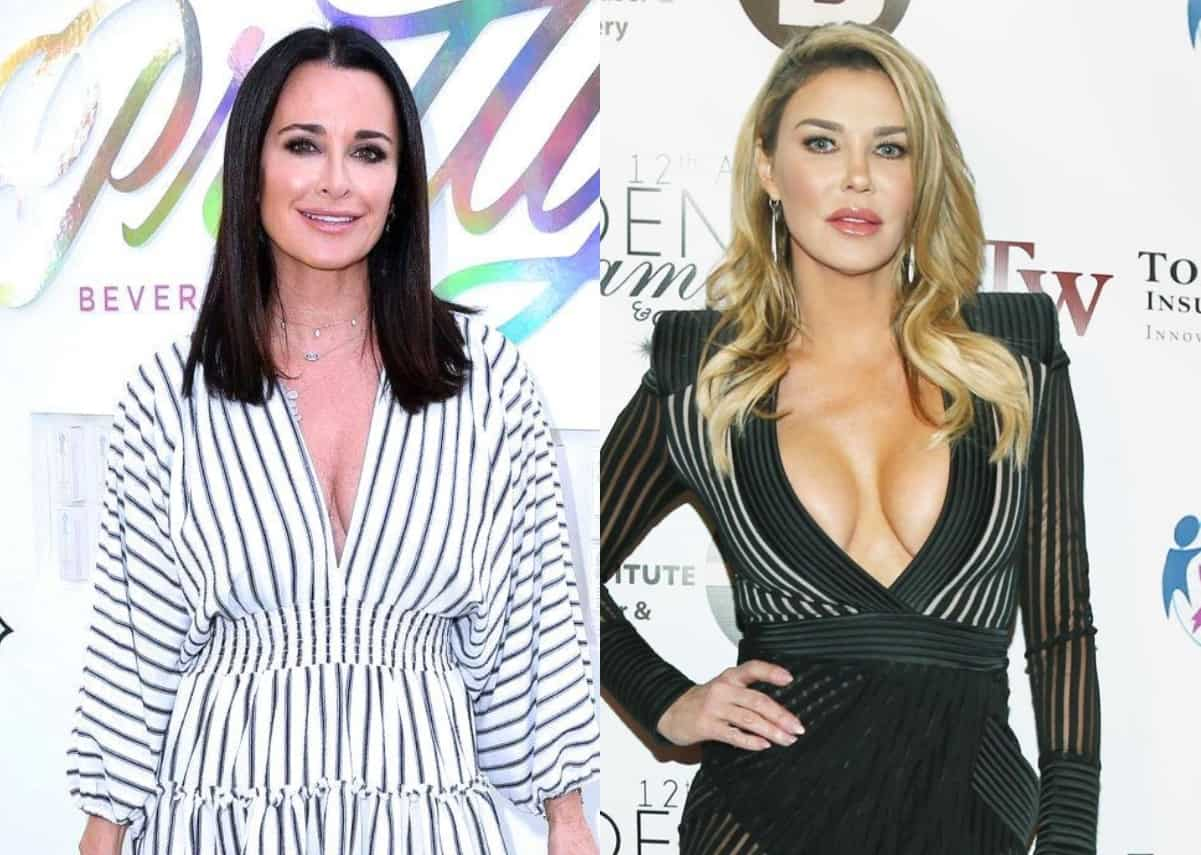 Kyle Richards' Frantic 911 Call Released Following Scary Bee Attack as RHOBH Alum Brandi Glanville is Hospitalized After a Spider Bite