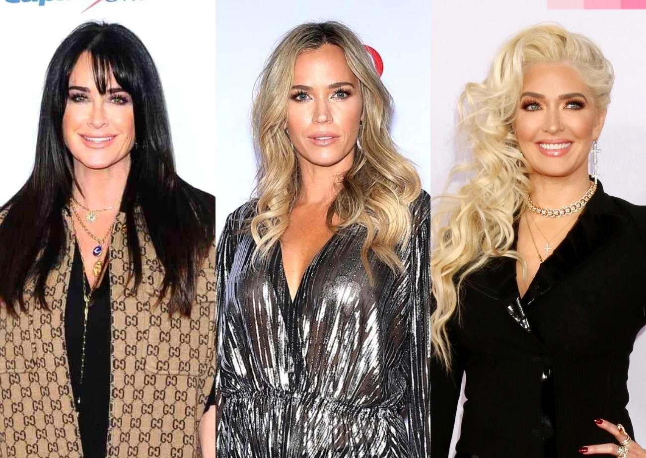Kyle Richards Admits She Invited Teddi as Backup for Erika Jayne to Her RHOBH Dinner, Talks Not Understanding 'Fox Force Five' as Sutton and Garcelle Weigh In