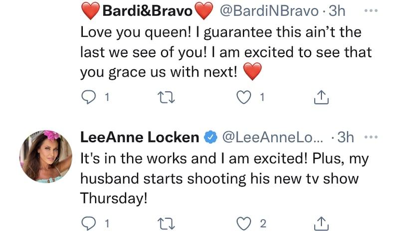RHOD LeeAnne Locken Suggests She Has Show in the Works