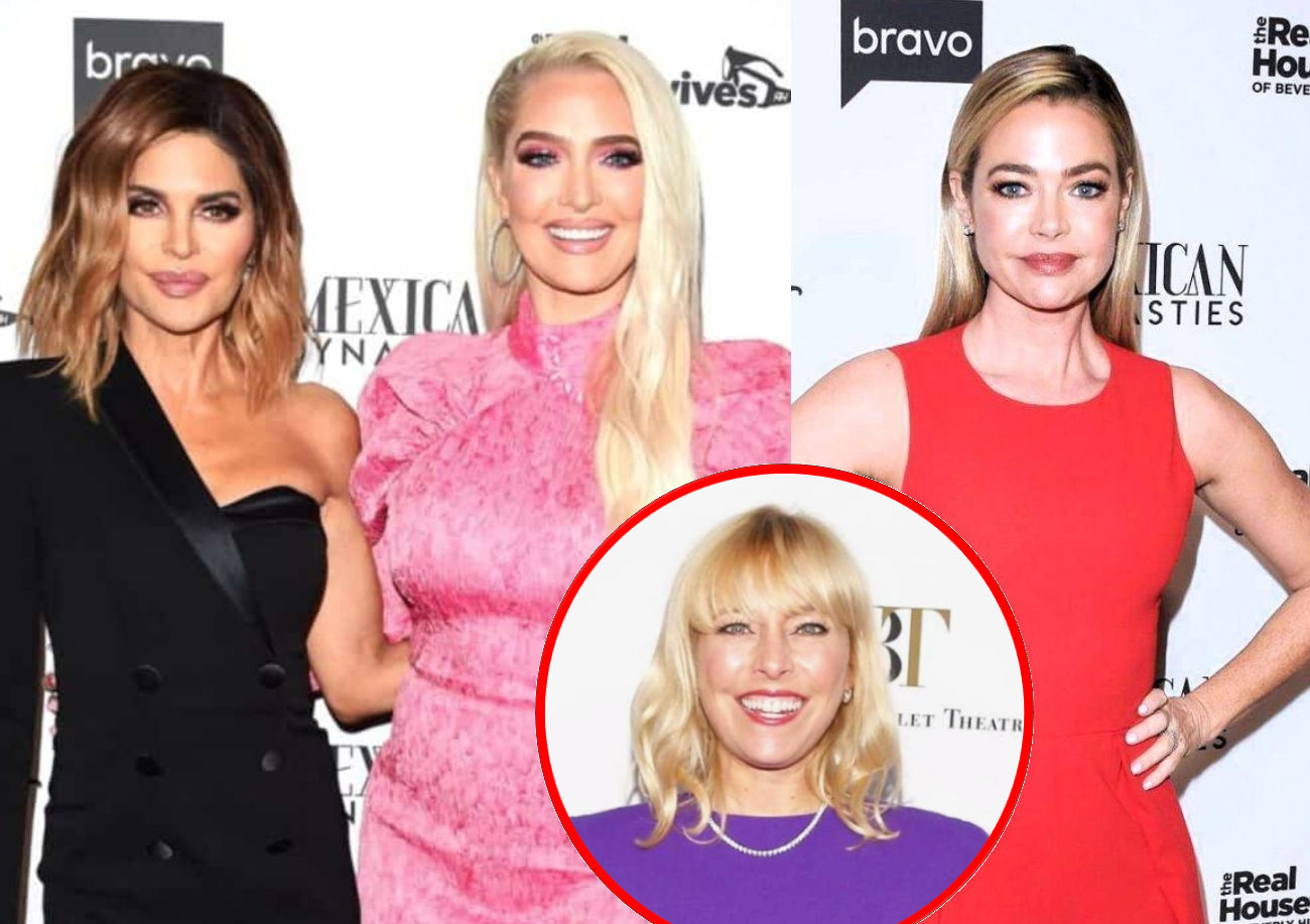 RHOBH's Lisa Rinna On Why She Treats Erika Different Than Denise, Reacts to Sutton Wanting to Distance Herself From Erika, and Shares Thoughts on RHOSLC
