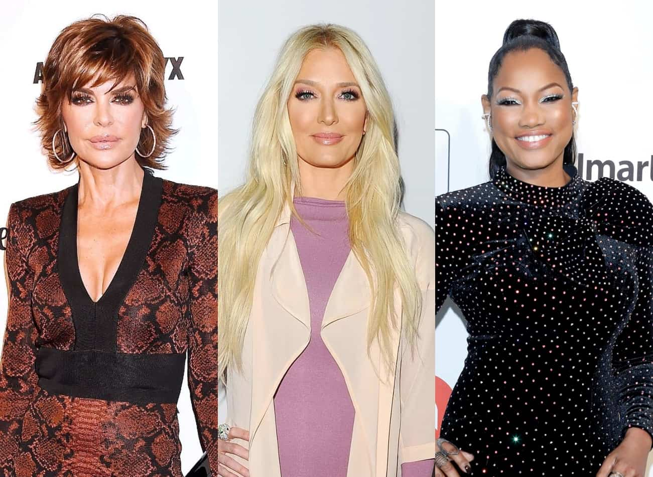 """Lisa Rinna Reveals Erika Jayne Had Screaming Match With Producer Over Garcelle Drama on RHOBH as Erika Reportedly Feels Bravo """"Pulled a Fast One"""" On Her"""