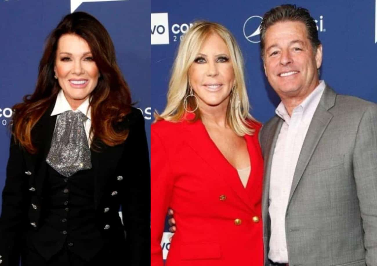 Lisa Vanderpump Shades Vicki Gunvalson's Fiance Steve Lodge After He Calls Her Out Over COVID Mandate at Restaurants, Accuses Her of Discrimination as Fans Weigh in
