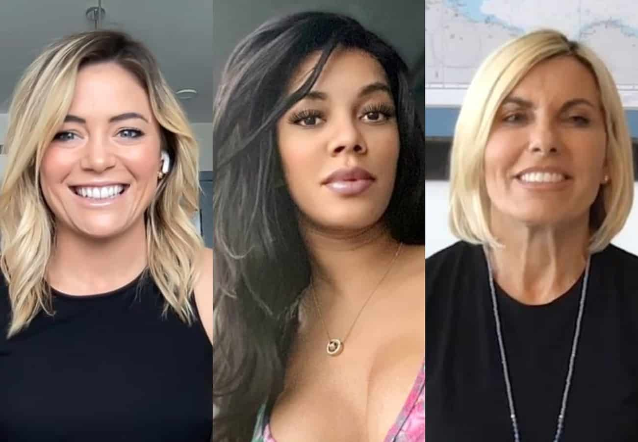 """Below Deck Med's Malia White Talks Lexi Wilson Drama And Whether She Was Hesitant To Return Following Season 5 """"Learning Curve,"""" Plus She Teases """"Intense"""" Exchange With Captain Sandy"""