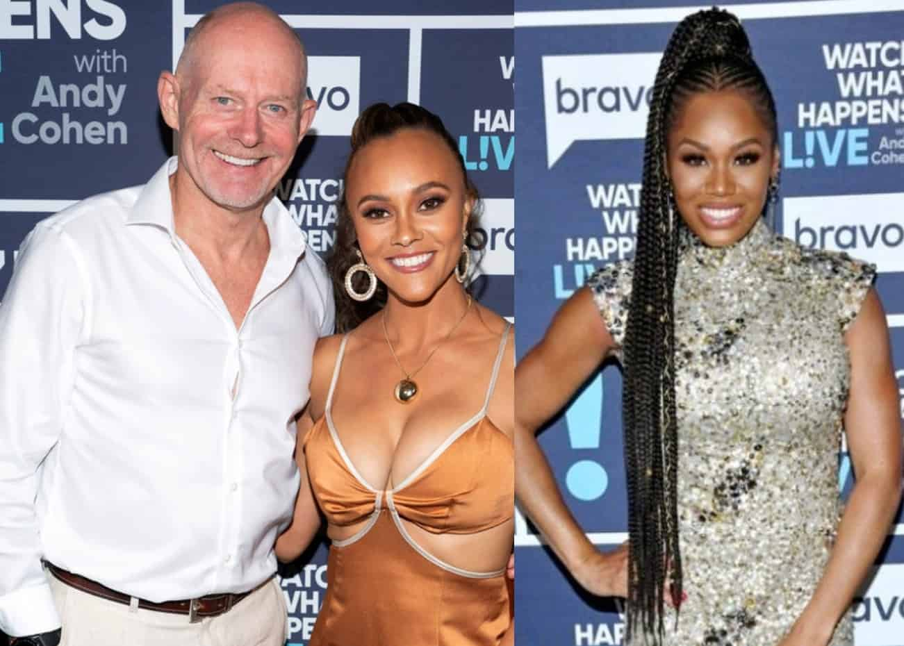 """Michael Darby Explains Recent Photo With Blonde Woman as Ashley Shares Where She Stands With Monique Samuels, and Reveals Michael's RHOP """"Hall Pass"""""""