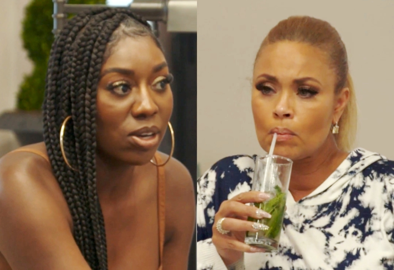 """RHOP Recap: Wendy Blasts Gizelle Over Eddie Rumors: """"Don't F**K With My Family"""" and Candiace Throws Ashley Out of the House for Stirring Up Drama"""