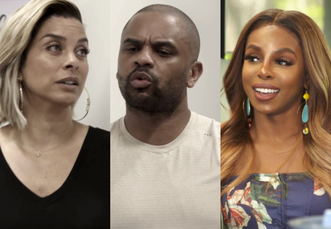 """VIDEO: Juan Dixon Tells Robyn He's """"Done"""" in RHOP Midseason Trailer as Candiace Dillard-Bassett Slams Michael Darby's White """"Privilege"""" and Gets Salad Thrown in Her Face"""