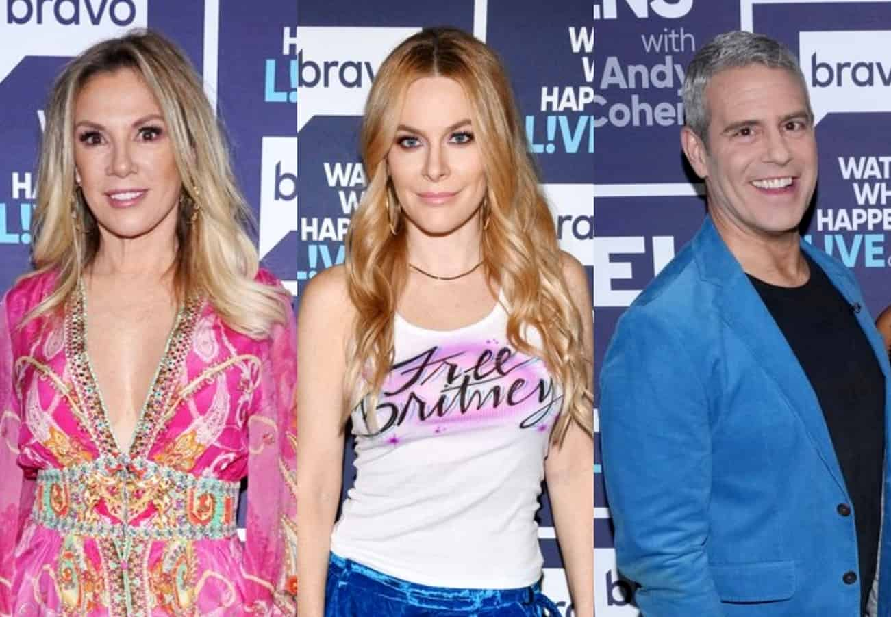 Ramona Singer Thought Leah Created RHONY Firing Rumors and Addresses Reunion Drama, Plus Andy Cohen Calls Her Out, and She Reacts to Rihanna Diss