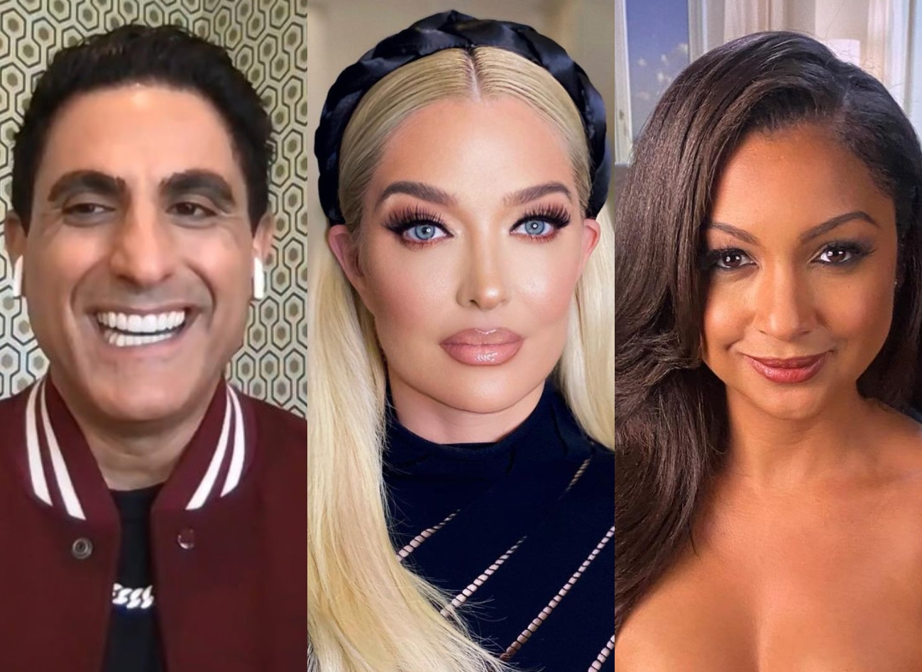 Shahs of Sunset's Reza Farahan Reacts to Erika's Scandal, Eboni's Preachy Label, and Gizelle's Feud With Karen, Plus Says Mike Didn't Let Paulina Have Fun on WWHL