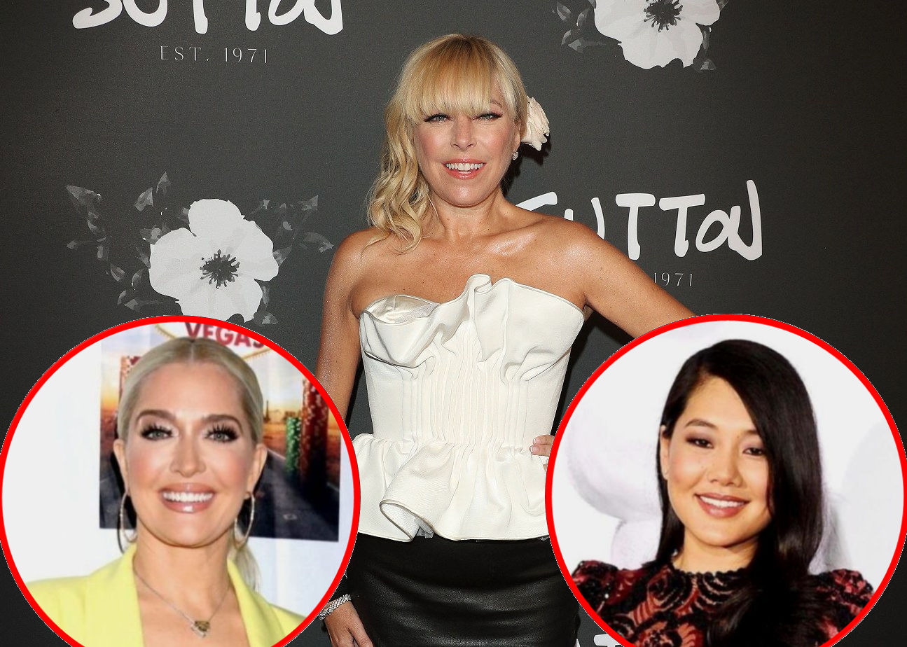 """Sutton Stracke Says She Believes """"Some of"""" Erika Jayne's Story and Teases Drama Ahead, Plus She Addresses Crystal's """"Jealous"""" Comment on RHOBH"""