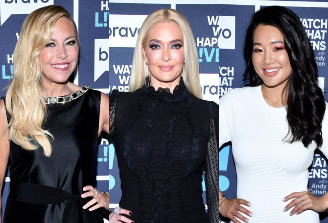 """Sutton Stracke Explains Why RHOBH Cast is Protecting Erika Jayne, Reflects on Off-Screen """"Crossing Over Moment"""" With Crystal, and Where They Stand"""
