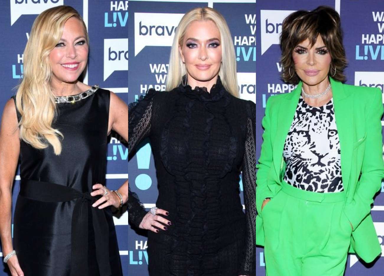 'RHOBH' Sutton Stracke Offered Erika Jayne Loan Amid Divorce From Thomas Girardi as Lisa Rinna Reveals Erika Refused to Say Where She Got Money to Leave Thomas