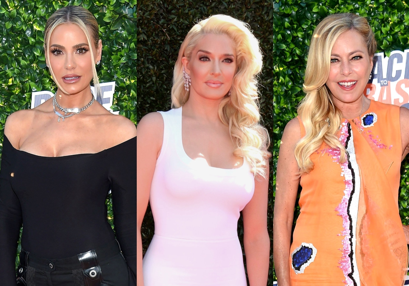RHOBH Star Dorit Kemsley Reacts to Criticism for Going Easy on Erika Jayne at Kyle's Party as Sutton Explains Why She Sought Legal Advice