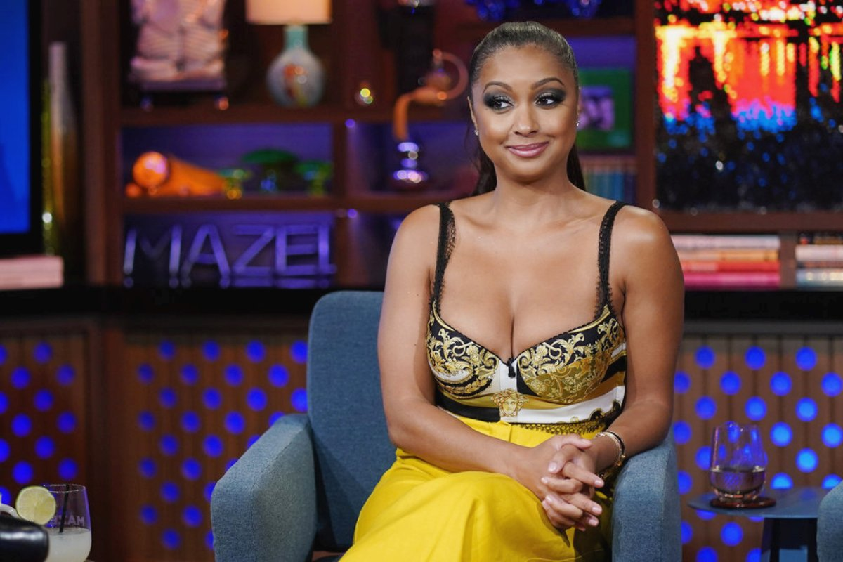"""Eboni K. Williams Explains RHONY Ratings Drop, Denies Blame and Says OGs Are Supposed to """"Carry"""" Show, Plus She Talks Cast's Double Standards"""