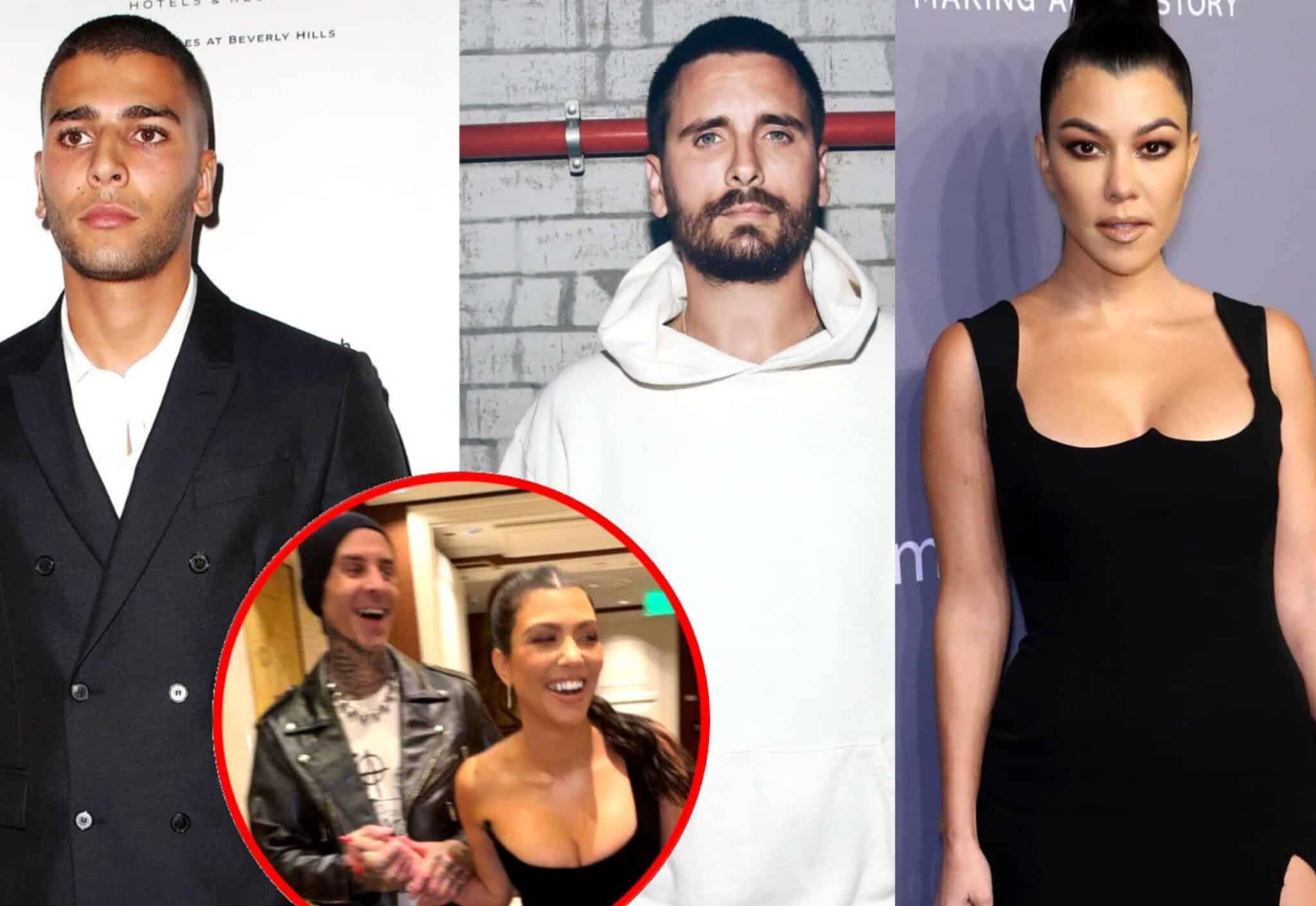 Alleged DM of Scott Disick Mocking Kourtney Kardashian's Relationship With Travis Barker Are Leaked by KUWTK Star's Ex Younes Bendjima