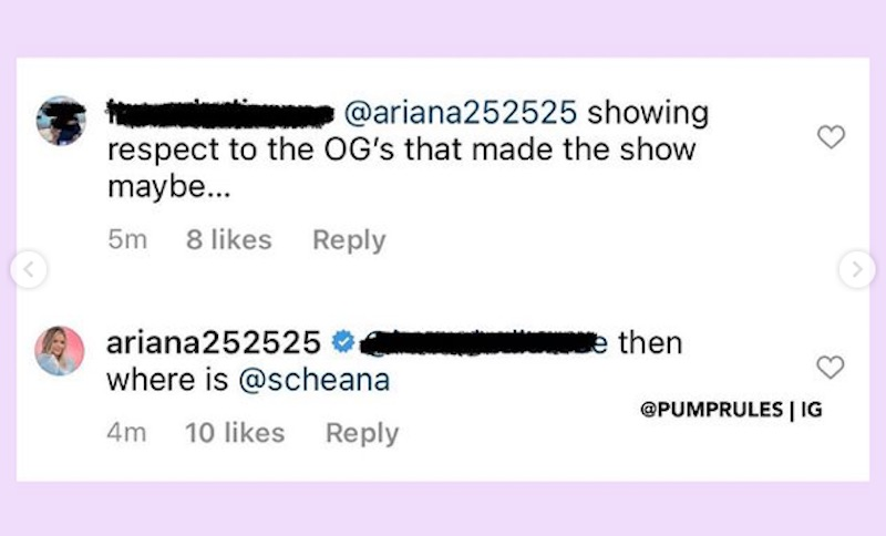Ariana Madix Calls Out Lala for Leaving Scheana Shay Out of Vanderpump Rules OG Photo