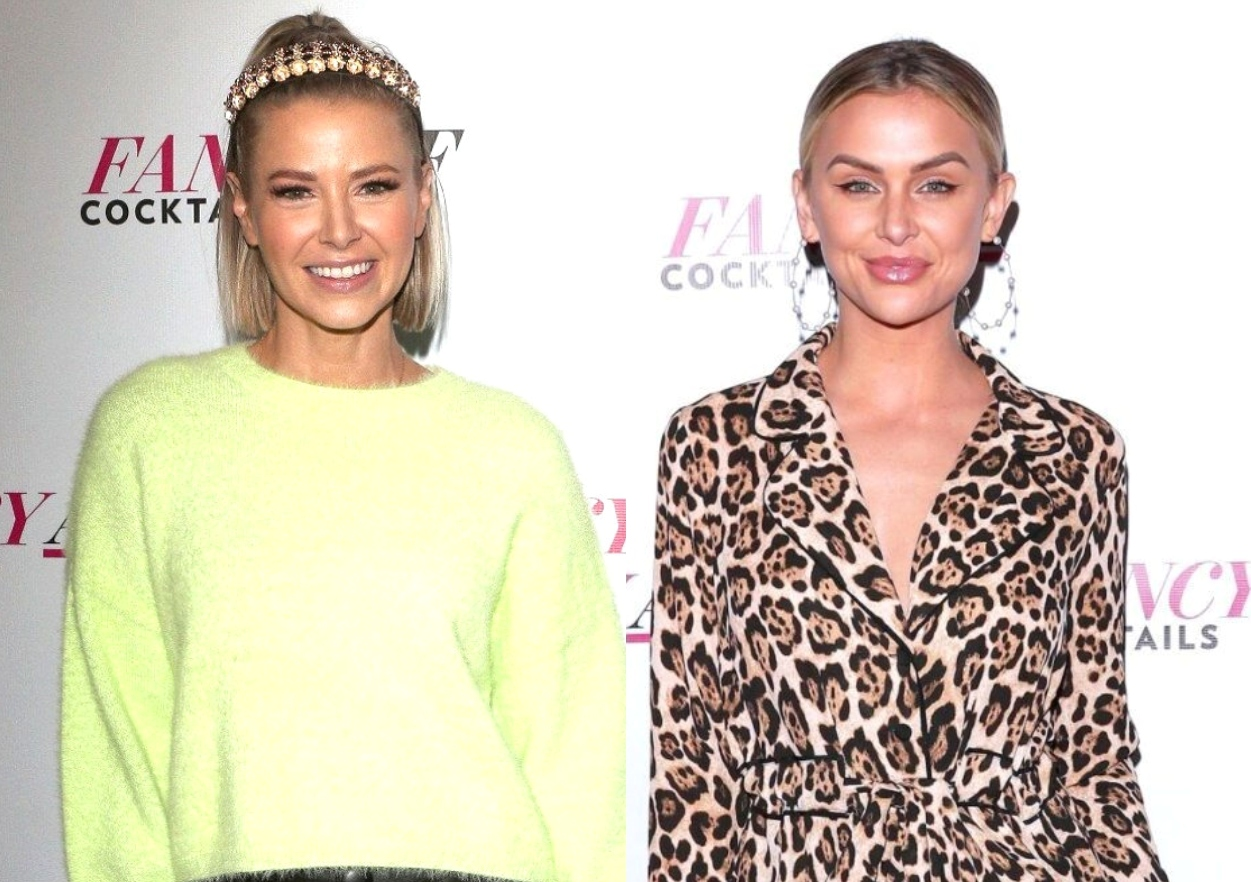 """Vanderpump Rules' Ariana Madix Confronts Lala Kent About """"Living in the Past"""" as She Shares and Deletes Photo of Stassi and Kristen on Premiere Night"""