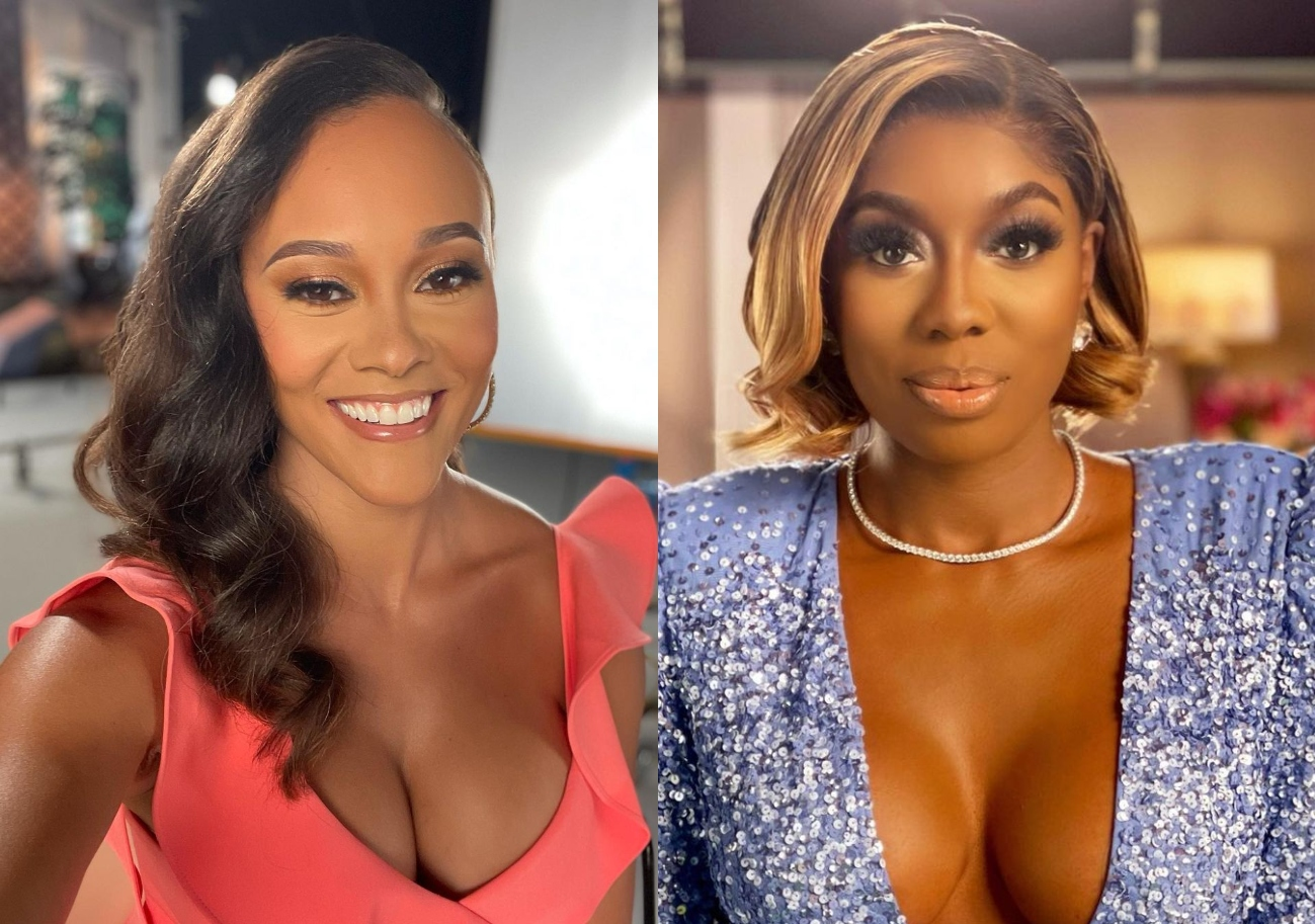 """Ashley Darby Defends Decision to Discuss """"Eddie Rumors"""" With Wendy Osefo as Wendy Shades Ashley's Marriage and Says RHOP Costar Did Gizelle's Dirty Work"""