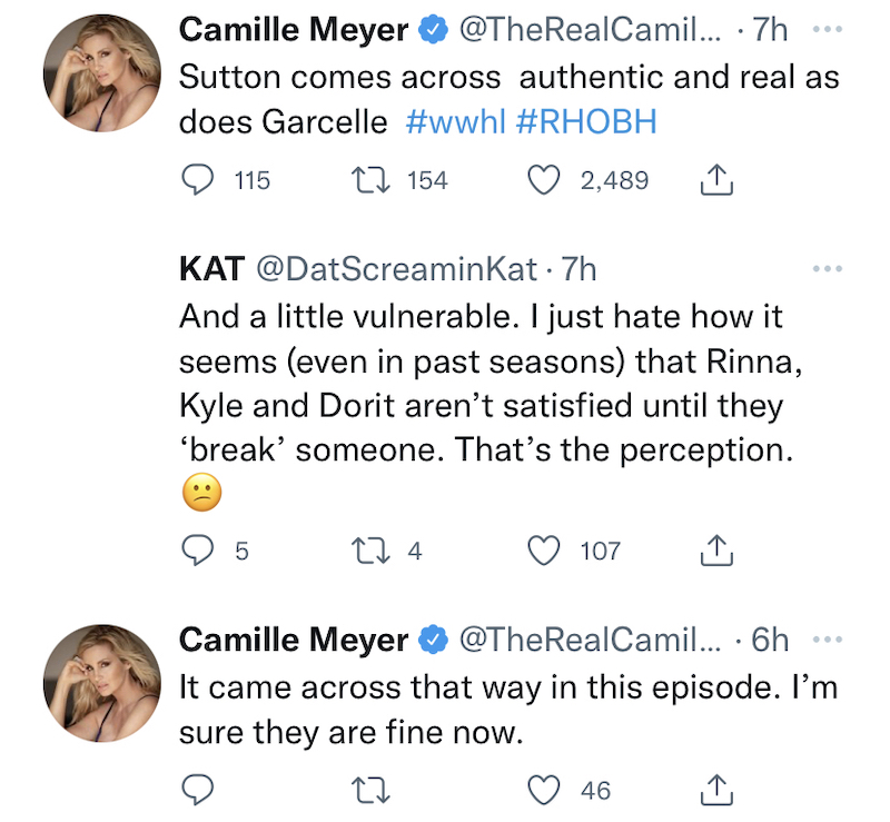 rhobh camille grammer on kyle richards and dorit kemsley trying to break cast