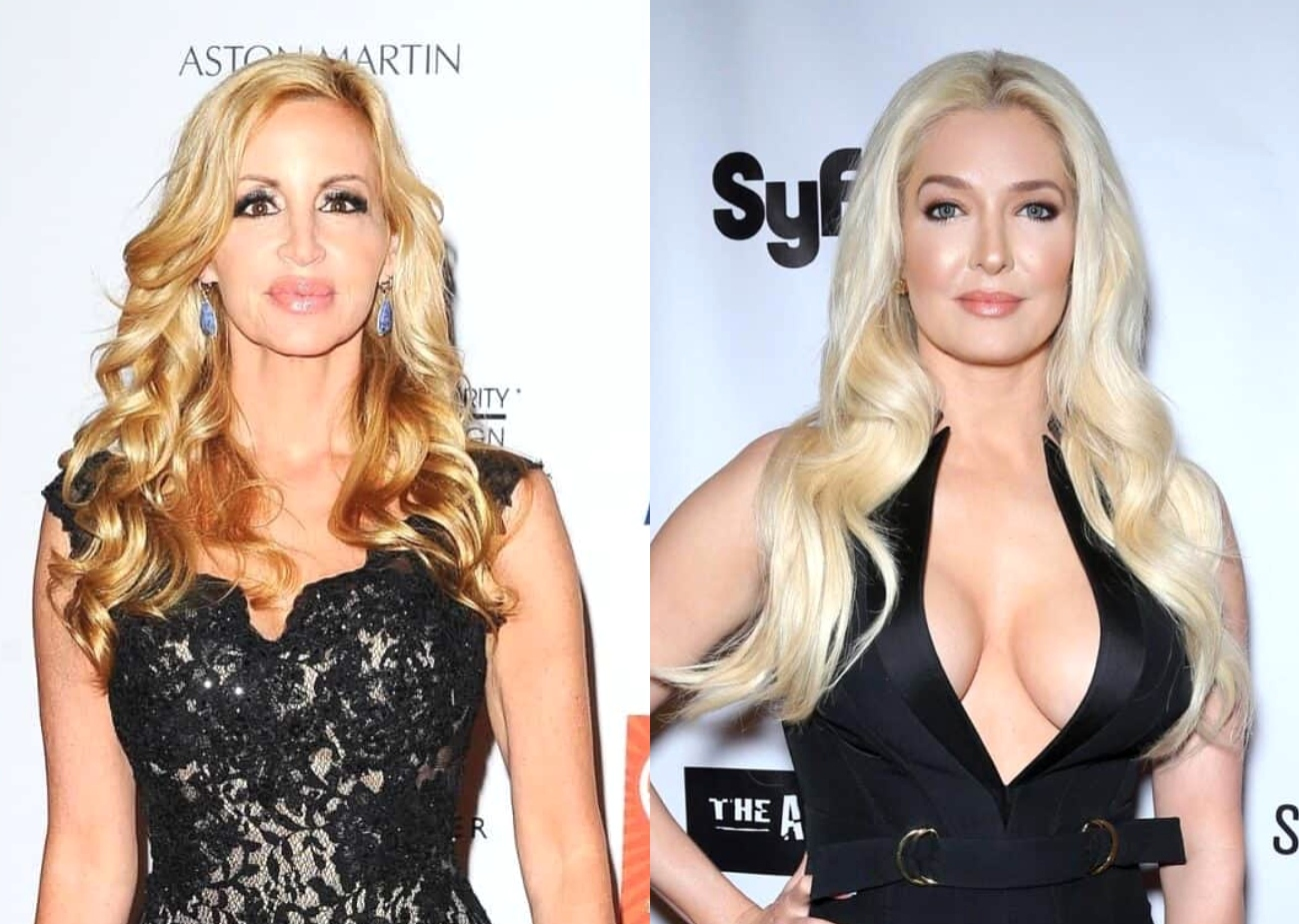 Camille Grammer Heard Erika and Tom Rumors at Andy Cohen's Baby Shower, Shades the RHOBH Cast's Reunion Looks