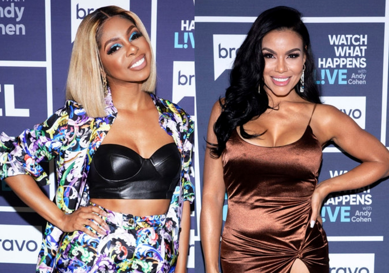 """RHOP's Candiace Dillard Denies Knowing About Mia Thornton's Mom Trauma and Calls Out Double Standard as She's Slammed as """"Inappropriate"""""""