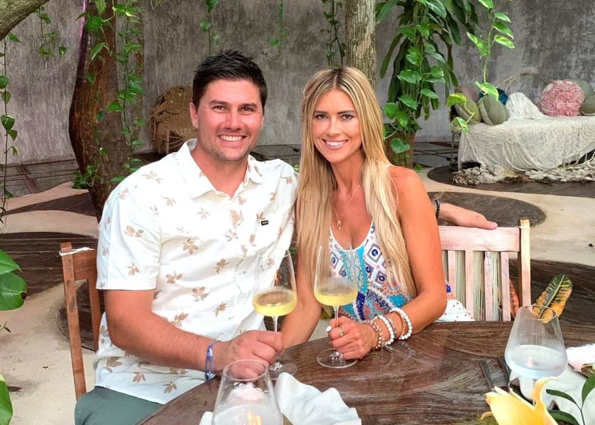 Flip or Flop's Christina Haack Confirms She's Engaged to Joshua Hall, See a Photo of Her Stunning Diamond Engagement Ring as They Celebrate in Cabo