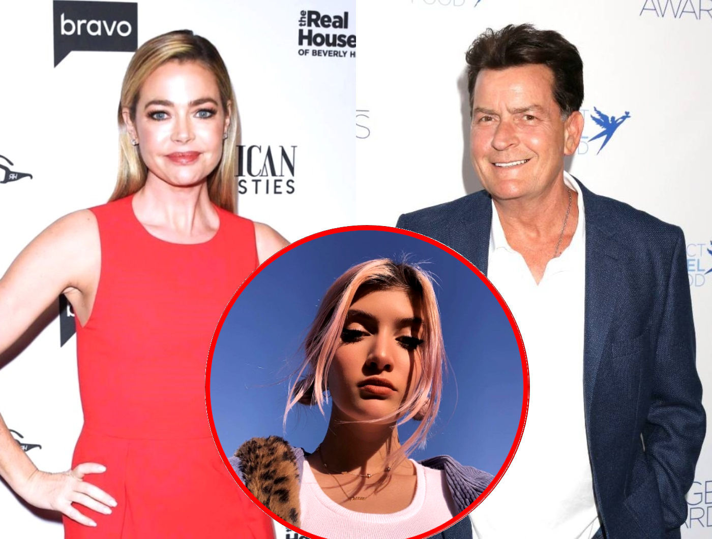 """Denise Richards' Daughter Sam Says She Was """"Trapped"""" in """"Abusive Household"""" Before Dropping Out of School and Allegedly Moving in With Dad Charlie Sheen"""