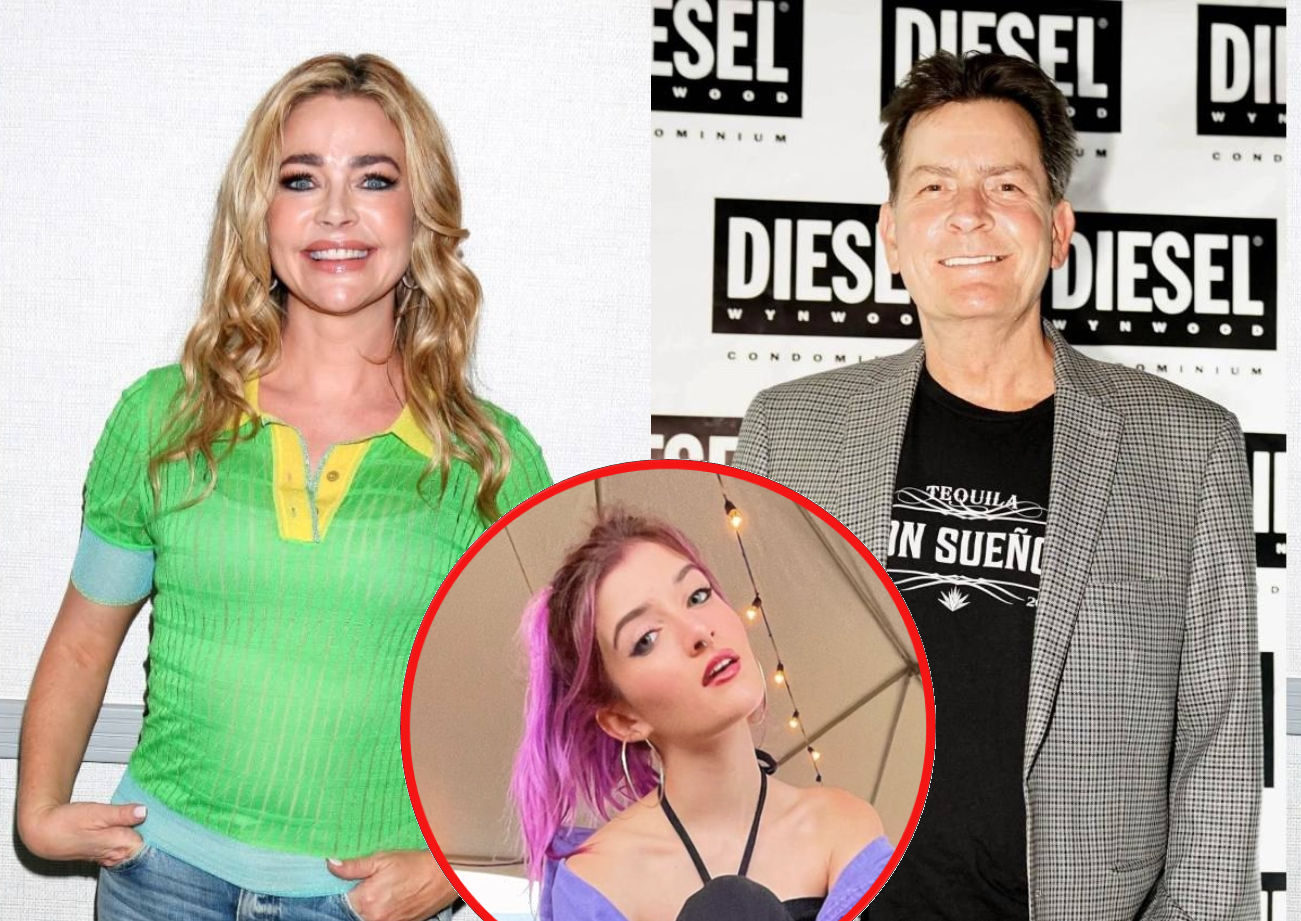 """Denise Richards Is """"Incredibly Saddened"""" After Daughter Sami Moves In With Dad Charlie Sheen Amid Abusive Home Claims Following a Dispute Over Her Rules"""
