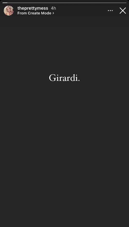 RHOBH Erika Jayne Shares Cryptic Girardi Post on Instagram Story