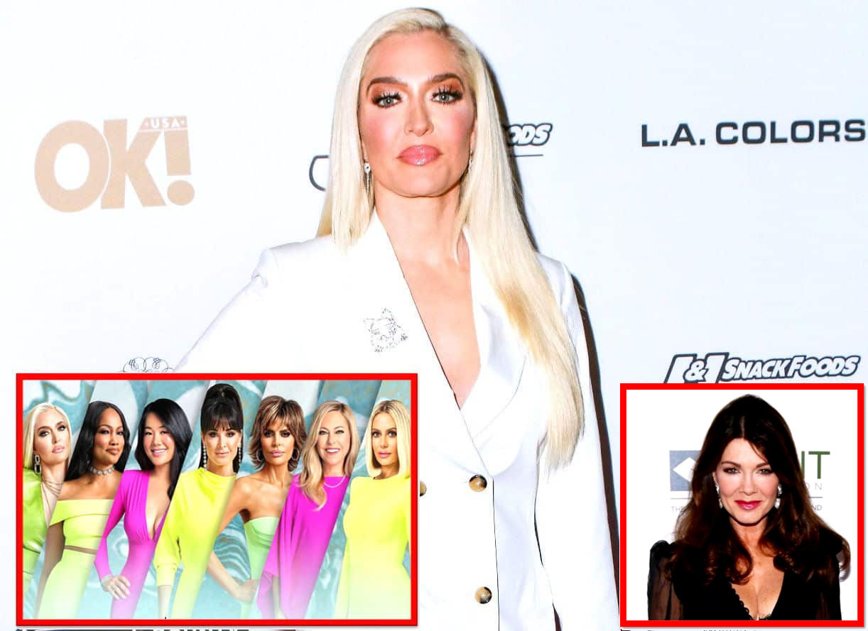 """REPORT: Erika Jayne Not Speaking to RHOBH Cast Except Lisa Rinna, Feels Lisa Vanderpump Was Right About Kyle Being 'Disloyal' and Prepares to Confront Dorit Over """"Hypocrisy"""" at Reunion, Plus Live Viewing Thread"""