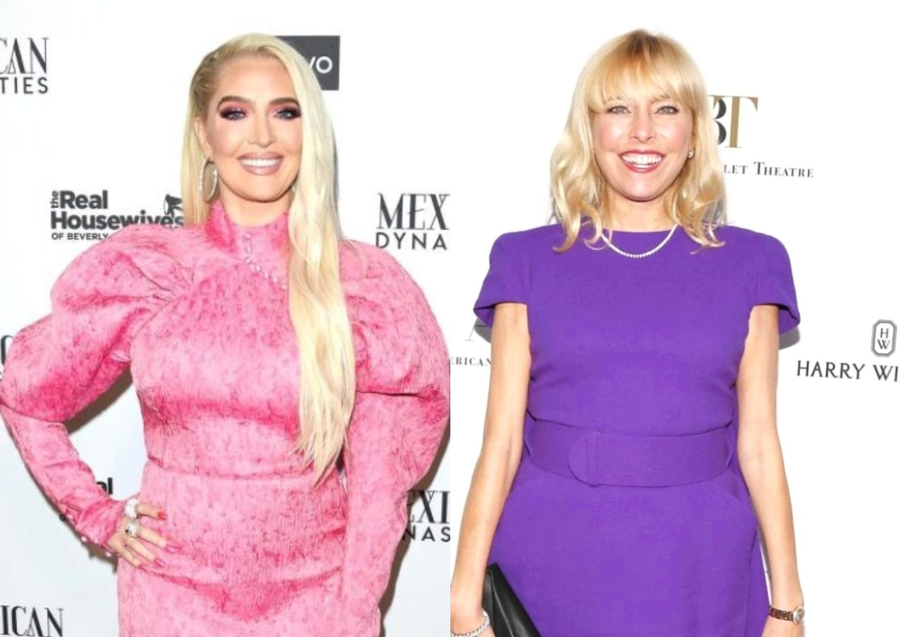 Erika Jayne Seemingly Shades Sutton Stracke's Intelligence Following RHOBH Confrontation as Source Shares How She's Feeling Going to Reunion