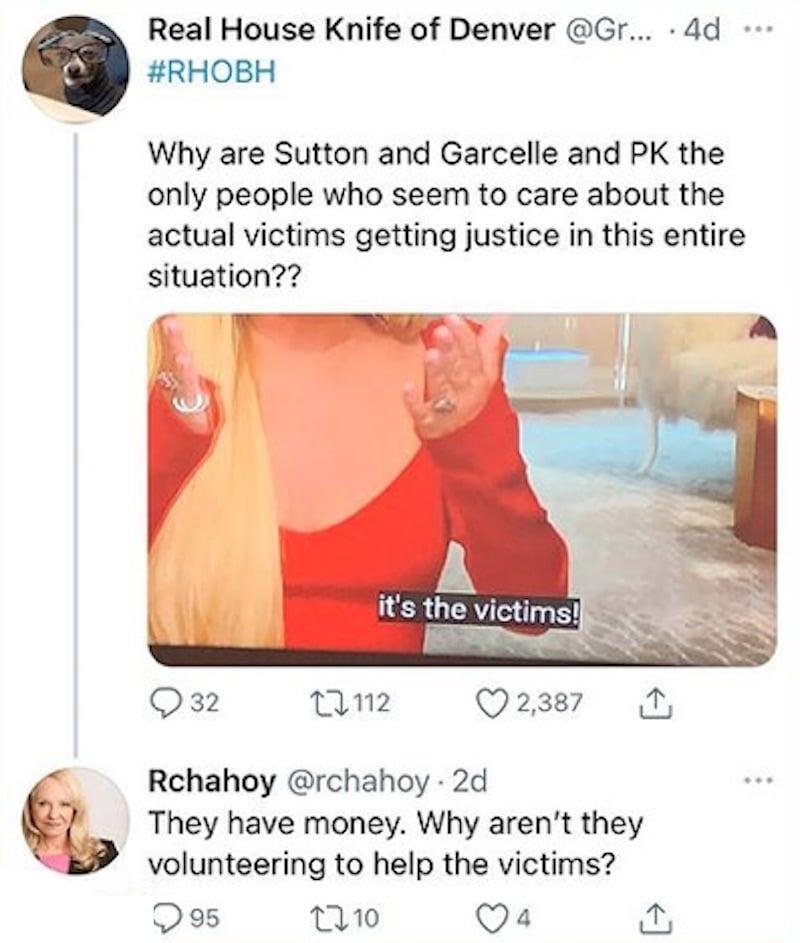 rhobh erika jayne's mom wonders why sutton stracke doesn't pay girardi fraud victims