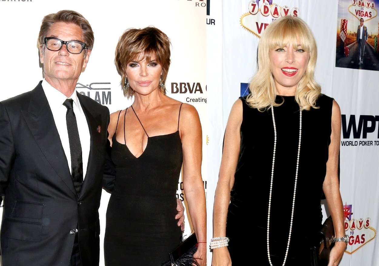 """Lisa Rinna Claps Back at Sutton Stracke's Claim She Invited Lisa and Harry Hamlin as Her Guests to Elton John' Gala, Plus Sutton Addresses Erka's Use of the Word """"Allegedly"""""""