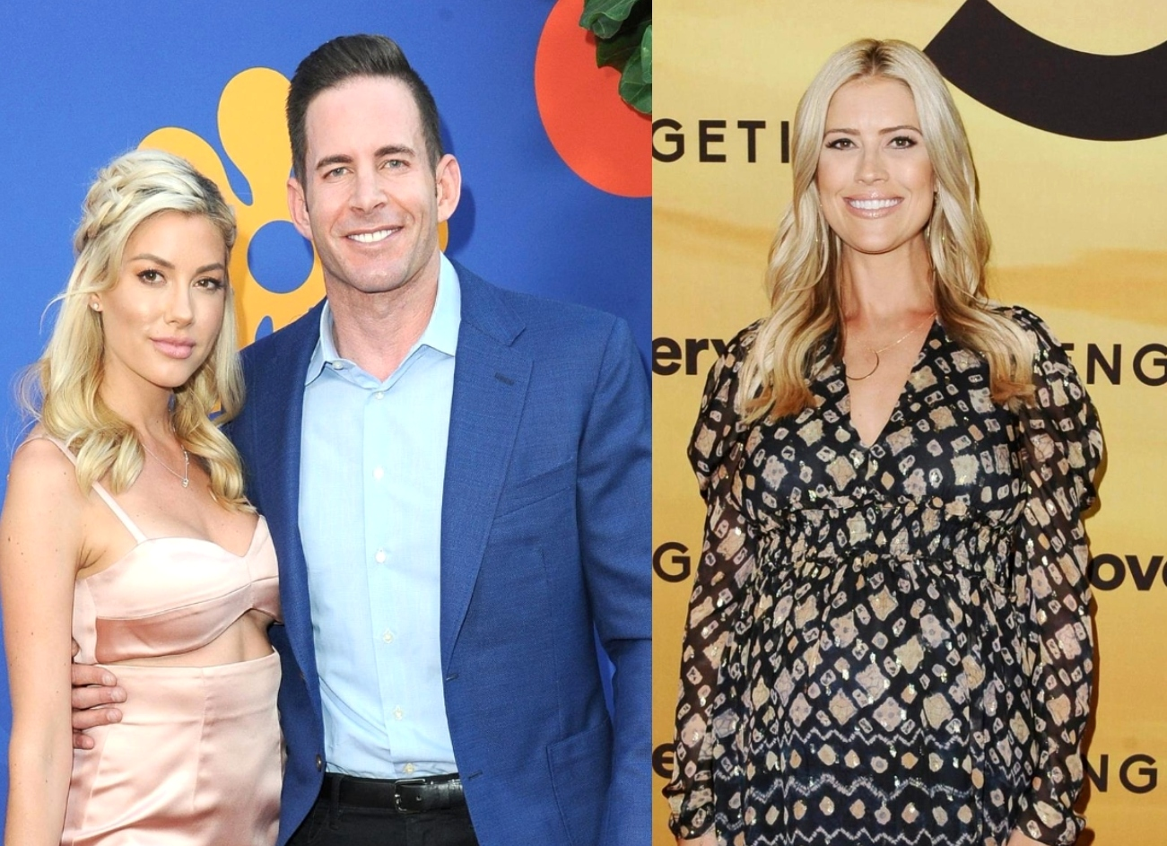"""Selling Sunset's Heather Rae Young Addresses Tarek El Moussa's On-Set Fight With Christina Haack, Admits to """"Frustrations"""" and Talks Co-Parenting"""